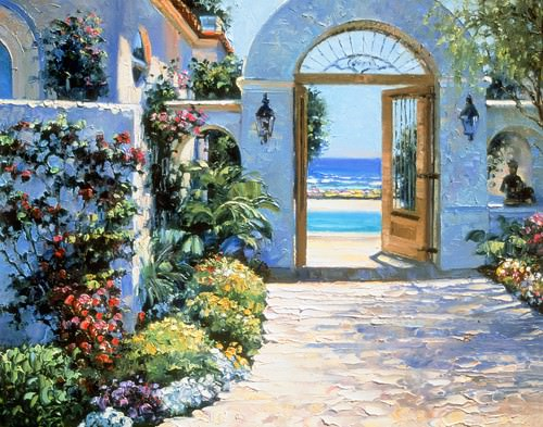 Hotel California von Howard Behrens