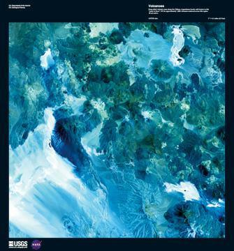 Volcanoes von Landsat-7
