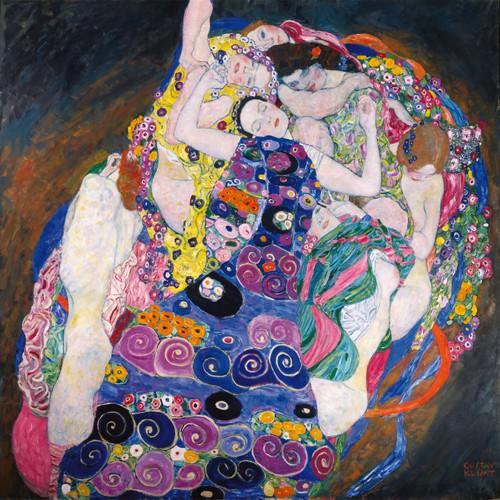 Die Jungfrau von Gustav Klimt