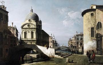 Venezianisches Capriccio von Canaletto