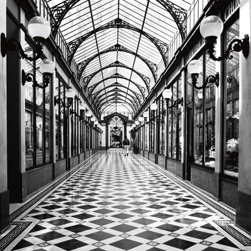 Passage des princes, Paris von Dave Butcher