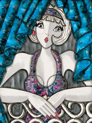 Rideaux bleus von MIROTA