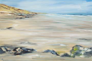Felsen am Strand von Ines Ramm