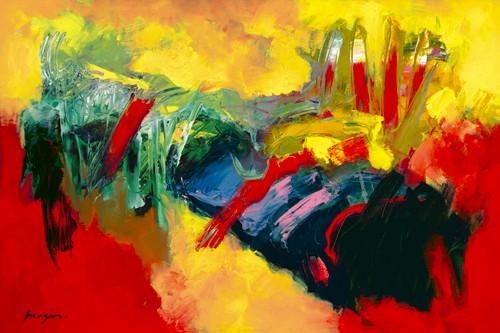 Rouge - Jaune I von Pascal Magis