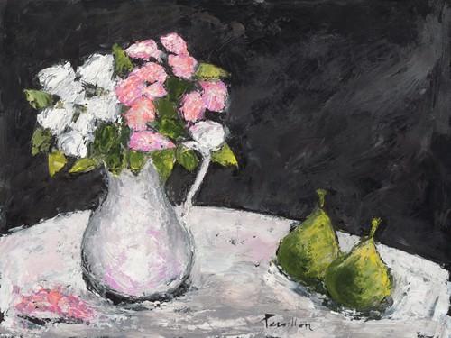 Poires et roses deElisa von Franeoise Persillon