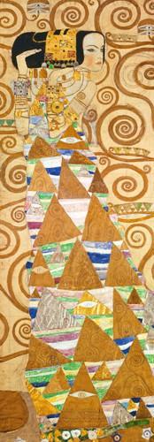 LeAttesa II von Gustav Klimt