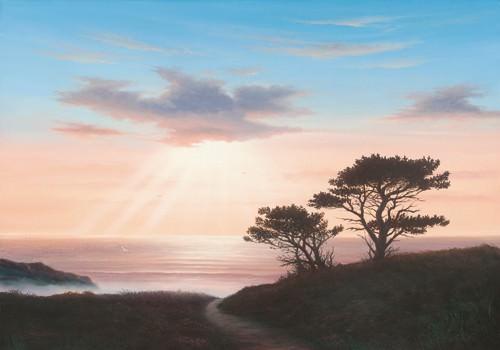 Eagles Nest Cornwall von John F Sim