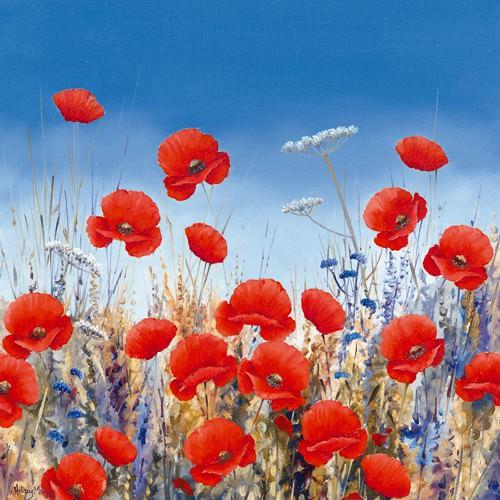Poppy Meadow II von Hilary Mayes