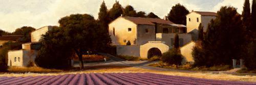 Lavender Fields Panel I von James Wiens