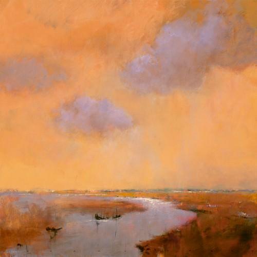 Evening Sky von Jan Groenhart