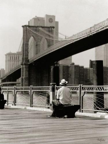 New York Man at the Brooklyn II von Ralf Uicker