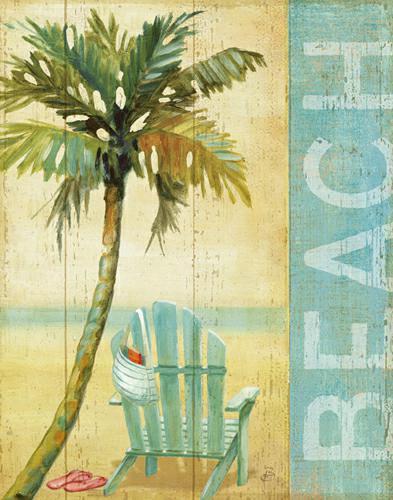 Ocean Beach I von Daphne Brissonnet