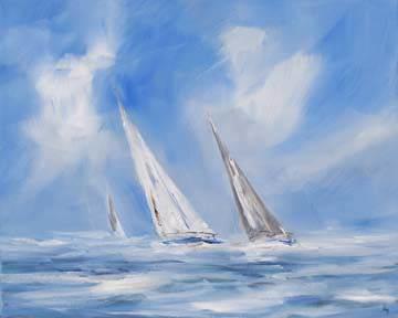 Auf dem Meer von Ines Ramm