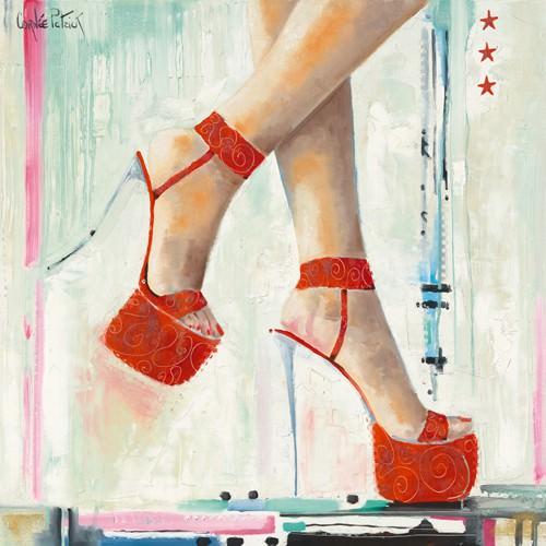 Marilynes Shoes I von Patrick Cornee