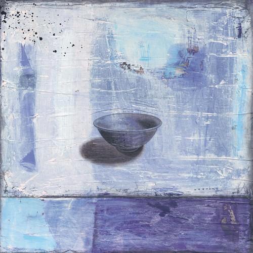 Bleu et transparence von Marylin Cavin