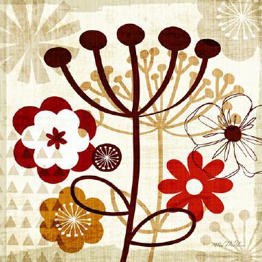 Floral Pop III von Michael Mullan