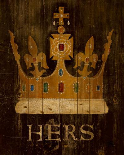 Her Majestyes Crown with word von Avery Tillmon