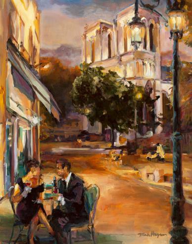 Twilight Time in Paris von Marilyn Hageman