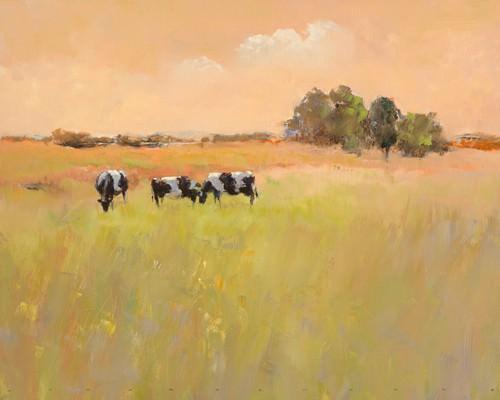 Three Cows von Jan Groenhart
