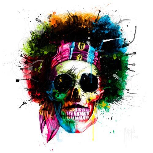 Woodstock Skull von Patrice Murciano