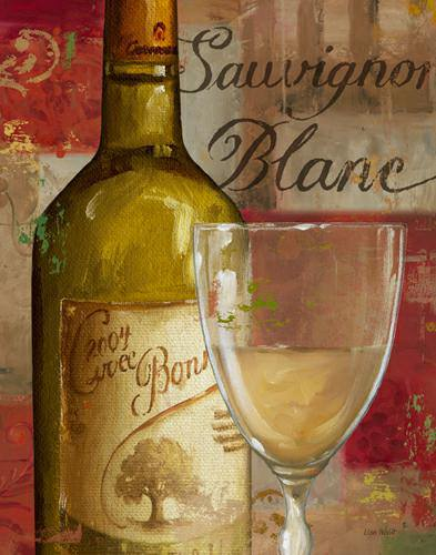Vin Abstrait II von Lisa Audit