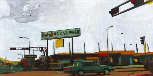 Octopus Car Wash Miami von Ayline Olukman