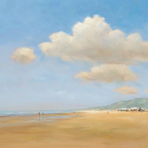 Strandwandeling von Jan Groenhart