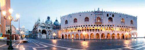Venedig Markusplatz von Rolf Fischer