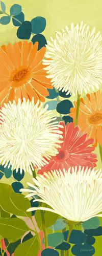 Tangerine Garden II von Kathrine Lovell