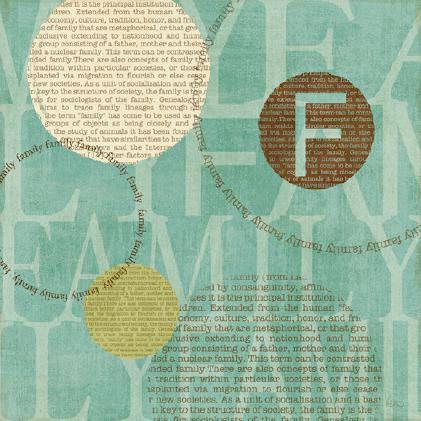 Circle of Words - Family von Veronique Charron