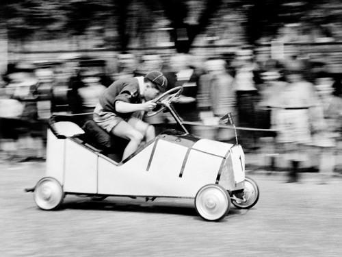 Boy Scouts Soap Box Derby 1955 von Anonym