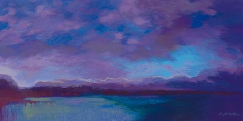 Grand Baie nuit III von Ewa Mazur-Devaux
