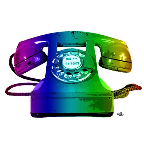 Rainbow Phone von Morgan Paslier