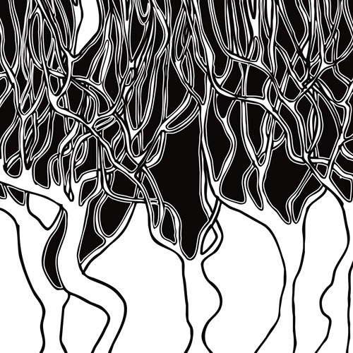 Forest on fire von Talva Design