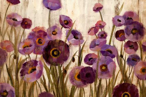 Pink and Purple Flowers von Silvia Vassileva