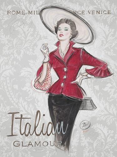 Italian Glamour von Chad Barrett
