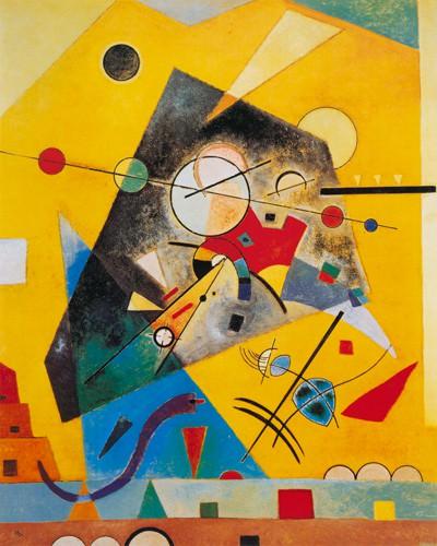 Stille Harmonie von Wassily Kandinsky