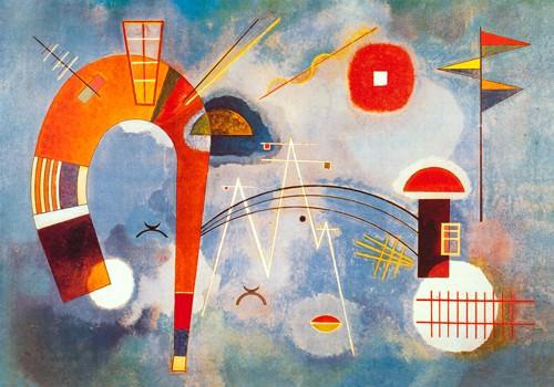 Rond et Pointu,1939 von Wassily Kandinsky