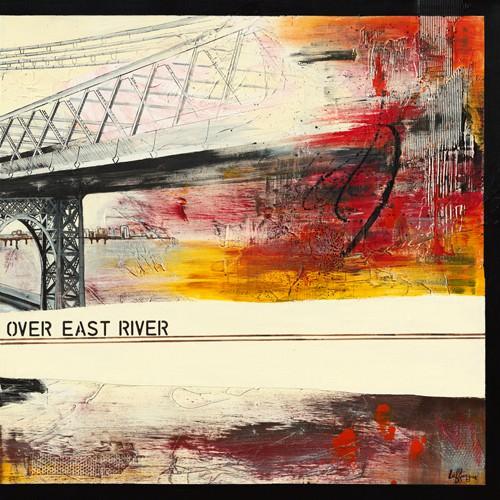 Walk Over East River II von Caroline Laffargue