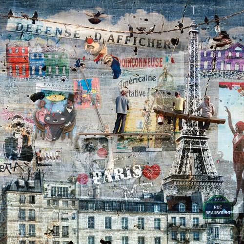 Les peintres de graffitis: Paris von Maelo / M-L Vareilles