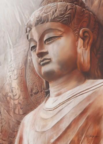 Buddha III von Brita Seifert