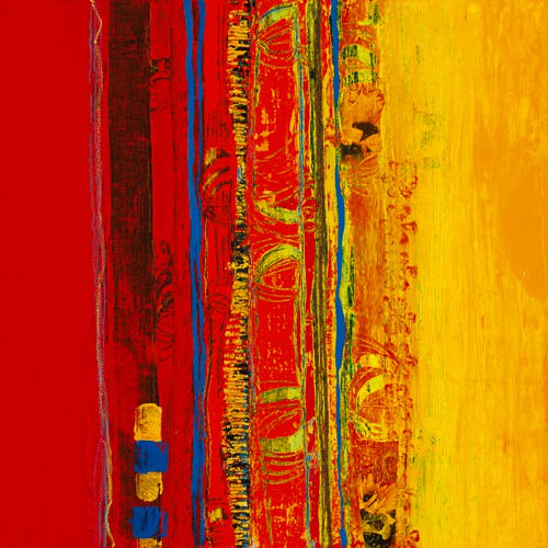 Abstrakt I von Marjolijn van Ginkel