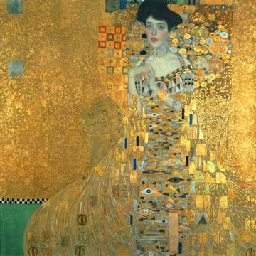 Bildnis der Adele Bloch-Bauer I von Gustav Klimt