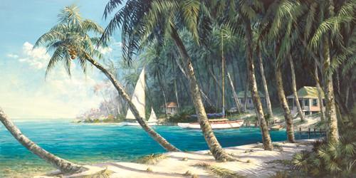 Bali Cove von Art Fronckowiak