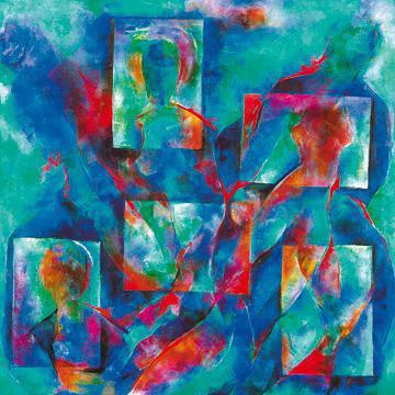 Amor und Psyche von Franz Ruzicka