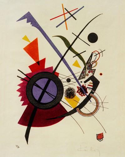 Violett von Wassily Kandinsky