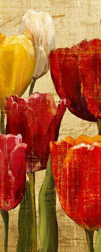 Tulip Fantasy on Cream III von Marilyn Hageman