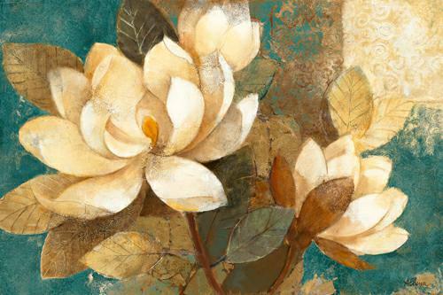 Turquoise Magnolias von Albena Hristova