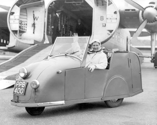Invalid Tricyle Car 1954 von Anonym