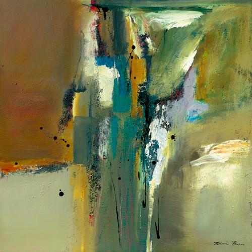 Abstract in Green II von Natasha Barnes